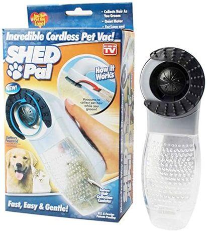 Прахосмукачка за домашни любимци Shed Pal - Батерии подарък!