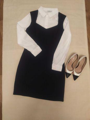 Продам новое платье-сарафан, школьная форма