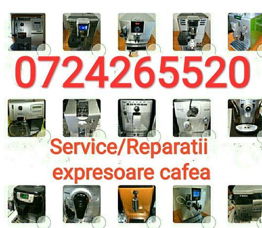 Service reparatii expresor cafea Saeco Philips Jura Delonghi PIESE