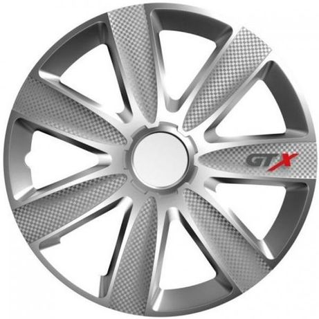 """Тасове за джанти 14\"""" Versaco Carbon GTX - Silver 28.99 лв."""