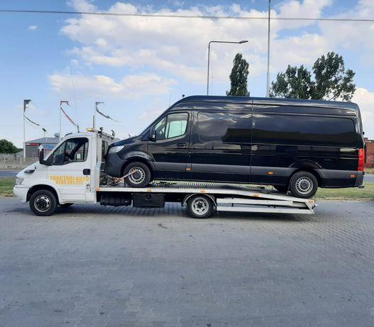 Tractari Auto Alexandria București Rosiori Turnu Olt Dube lungi 24/24h