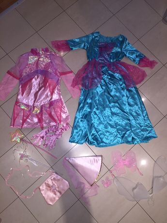 Карнавална рокля/принцеса-Пепеляшка,фея,Рапунцел,Аврора-128-146