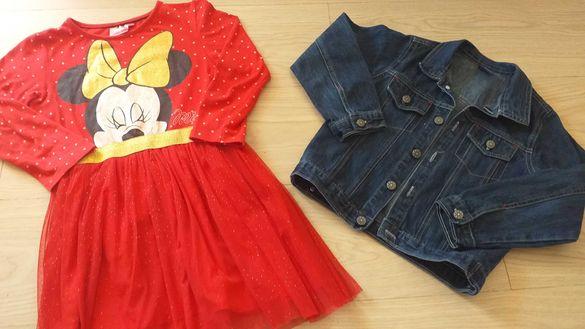 Детски рокли и лотове за момиченце размер 116 като нови-20-45лв.