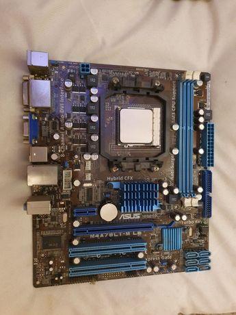 Kit placa de baza + procesor amd+ cooler