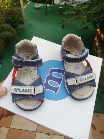 Vand sandale de piele Melania nr21
