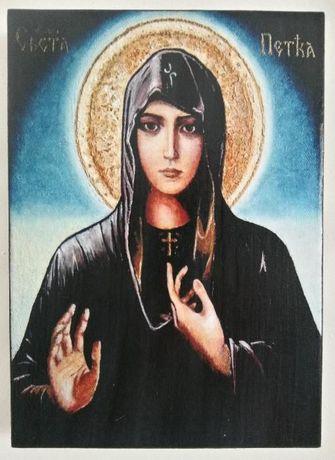Икона на Света Петка icona Sveta Petka