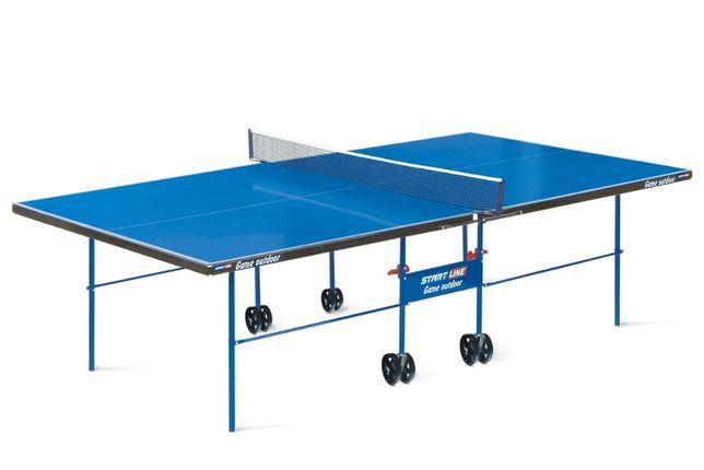 Теннисный стол Start line Game Outdoor(всепогодный)с сеткой- РАССРОЧКА