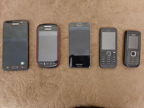 Смартфоны и кнопочные телефоны