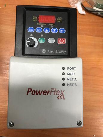 Честотен регулатор(инвертор) Allen-Bradley 0,4кw/200V Power Flex 4