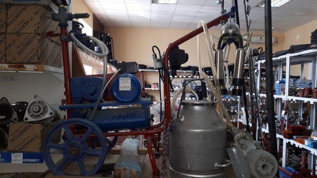 Доильный аппарат корова