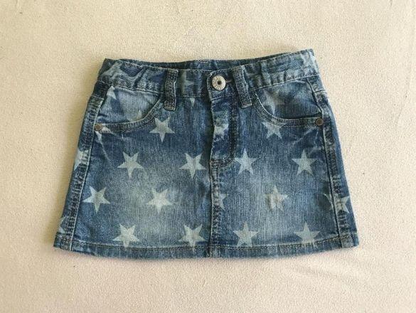 Страхотна дънкена пола за момиченце