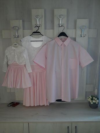 """Бутикови рокли """"мама и аз""""+ риза за тати"""