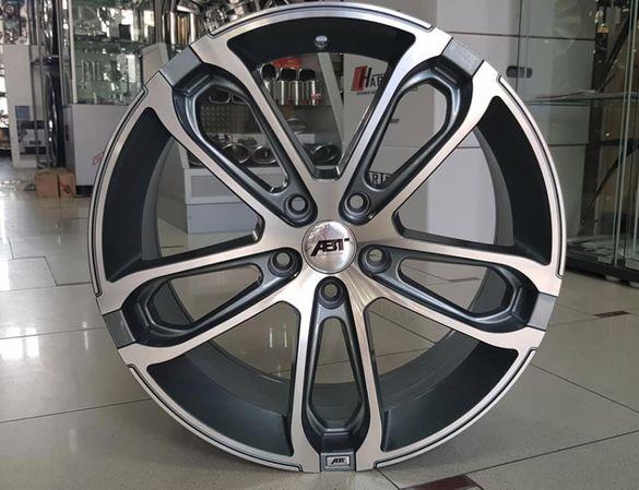 ABT CR джанти 18 ки Размер 8х18 ЕТ40 5х112 Skoda VW Audi