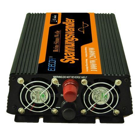 Invertor sinus pur, 1000W-2000W, 12V-230V sistem solar fotovoltaic