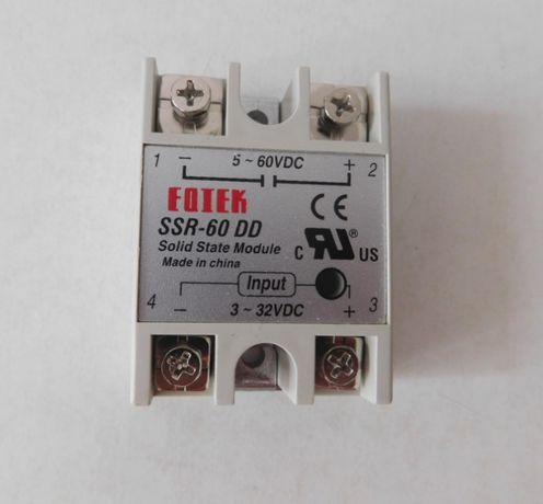 Releu SSR-10DA, SSR-40DA, SSR-80 DD si radiator