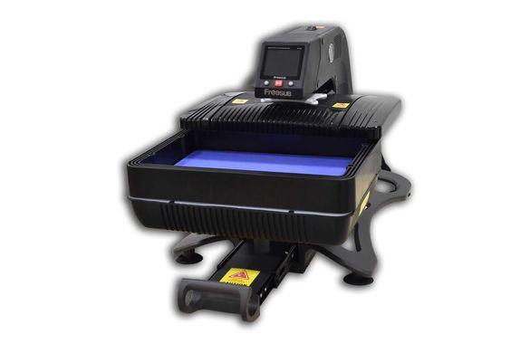 Пневматична Автоматична Преса Термотрансферна 3D COMBO ALLinONE