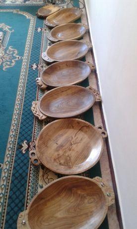 Астау, деревянная посуда на заказ. Эко дерево из гор Тургеня