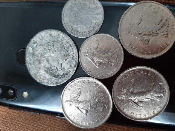 Френски монети Francs