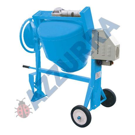 Betoniera profesionala silentioasa cu mecanism de basculare 350 litri