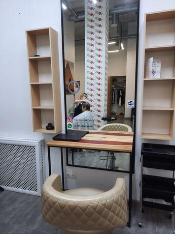 Сдаётся кресло Барбера, место женского мастера, место визажиста. Левый