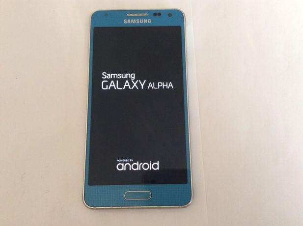 samsung  galaxy Alpha SM-G850F  32 Gb, culoare turcoaz