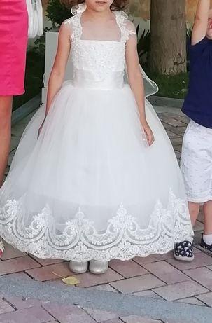 Официална детска рокля за калинка