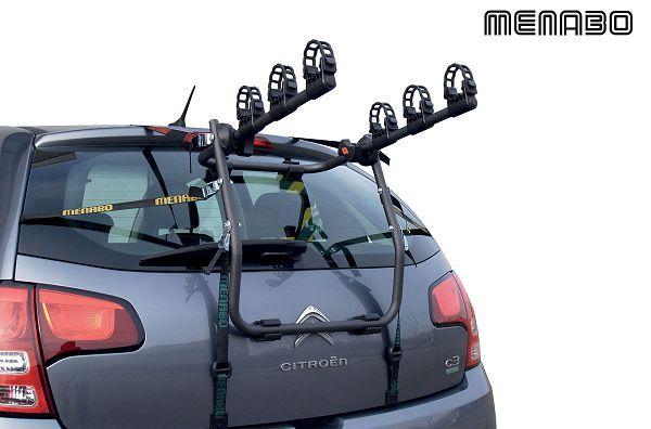 Suport bicicleta MENABO MISTRAL pentru 3 biciclete cu prindere haion