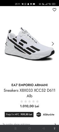 EA7 EMPORIO ARMANI sneackers Nr 43