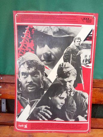 Уникален двоен филмов плакат от 1975г