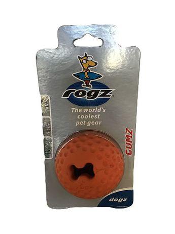 ROGZ - Кучешка играчка Топка 7.8см - Твърда Топка с място за Лакомство