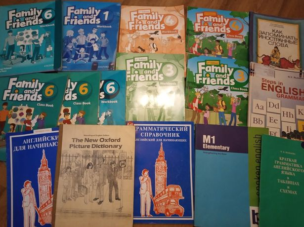 Family&Friends1 3 4 6учебник и рабочая тетрадь Доставка KZ