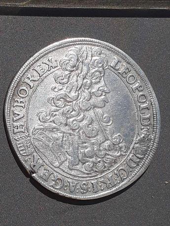Monede 1/2 taler Leopold I. si 1 taler Electoratul Saxoniei