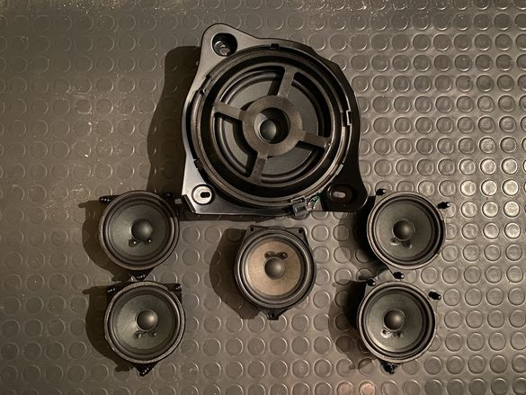 Mercedes W205 audio, говорители, тонколони