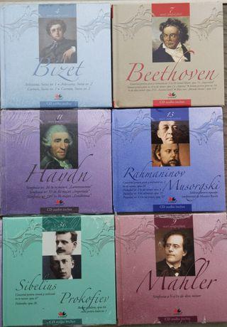 Muzică clasică. Carte și Cd. NOI, țiplate
