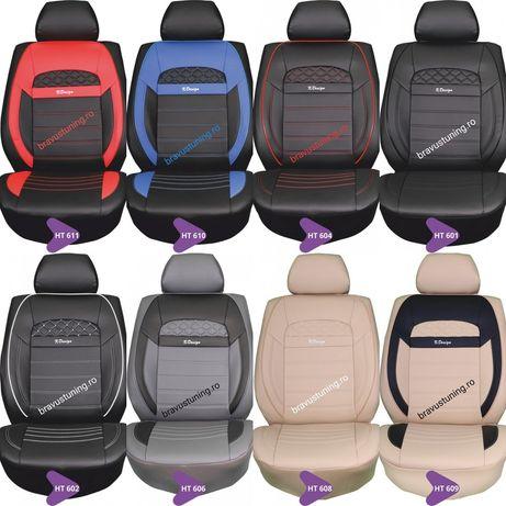 Huse scaun auto Piele Ecologică SET COMPLET Audi,Passat,SKODA,Bmw,Opel