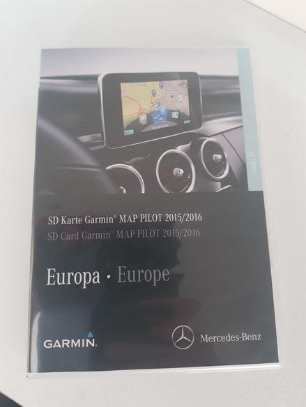 Нова SD карта Garmin Map Pilot за Mercedes