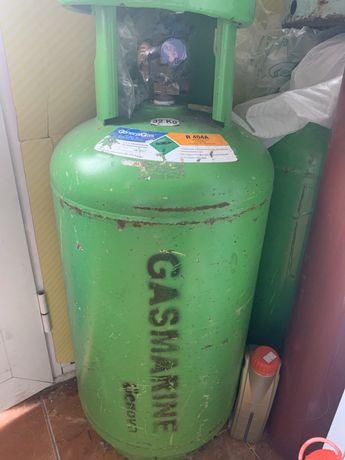 Promotie Butelie 2 robineti freon refrigerant r404a 40kg livrare curie