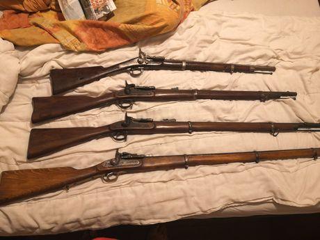 Колекционерски пушки и карабини. Пушка, карабина за колекция и въстано