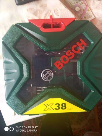 Комплект накрайници и свредла BOSCH X-line