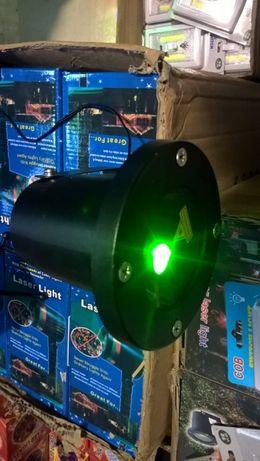 Proiector Laser pentru exterior/ interior cu lumini Verde-Rosu
