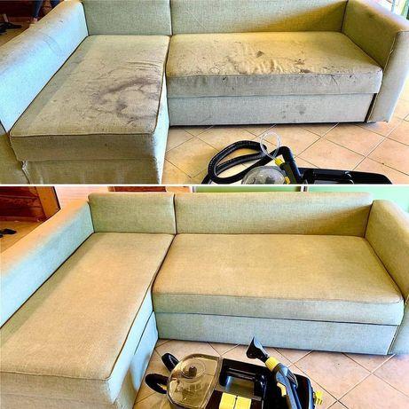 Постоянно акция Химчистка мягкой мебели матрасы стулья диваны на дому