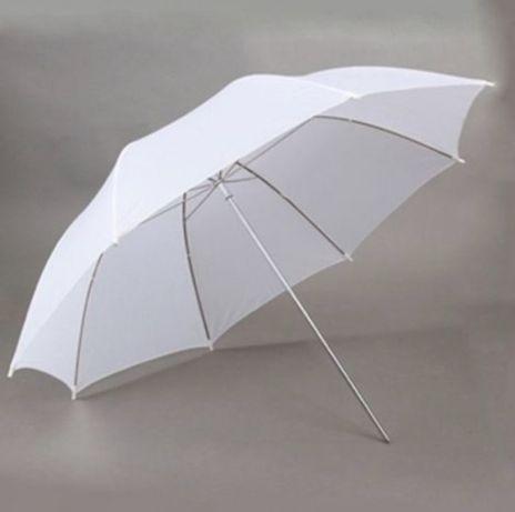 Зонт белый на просвет ! Для фотографа!