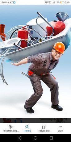 Выполним работы сантехник, электрик, сварщик, плотник