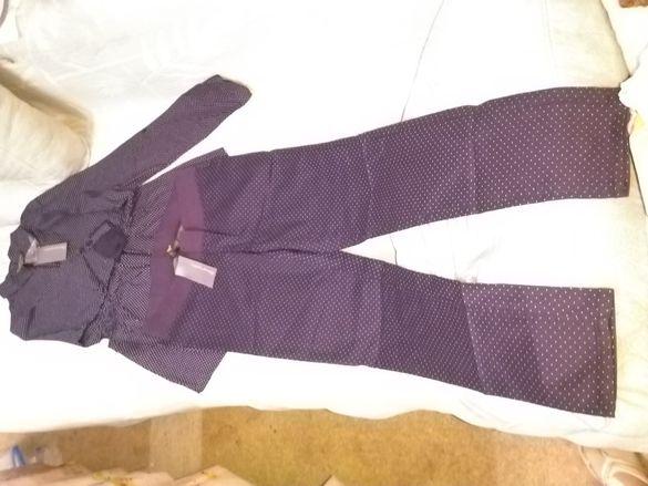 Нов комплект за бременни риза и панталон Mothercare, размер 12-14 UK