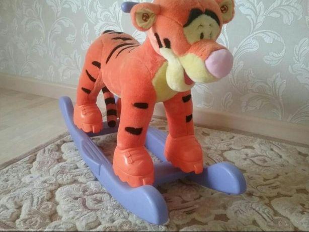 Качалка-каталка тигруля великан