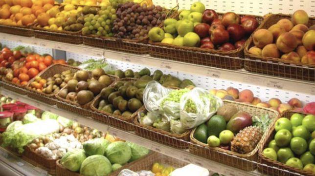 Овощной в магазине район Евразии