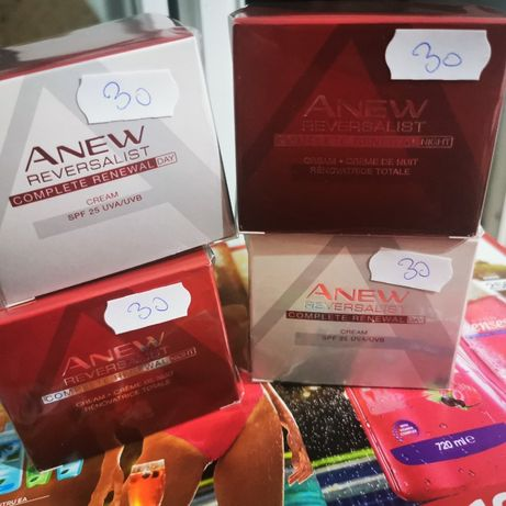 crema de ten Anew Reversalist+Avon Ageless