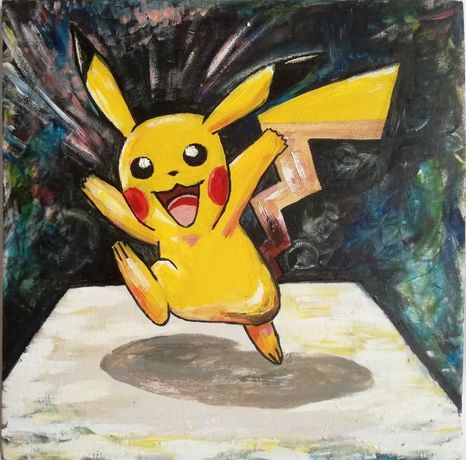 Pictura - Pikachu decor, casa, interior, tablou, natura, arta, obiect