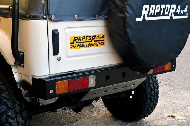 Bara spate aluminiu Raptor 4x4 pentru Suzuki Samurai