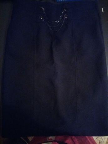 Одежда женская Юбка новая офисная черная размер 46